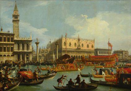 Canaletto_-_Bucentaur's_return_to_the_pier_by_the_Palazzo_Ducale_-_Google_Art_Project